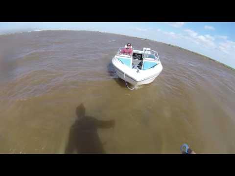 Glastron 1700 lake Kirby test, Abilene, Texas