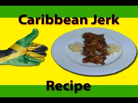 Caribbean Jerk Wings