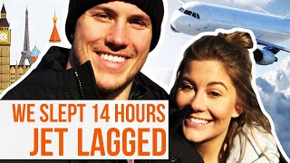 WE SLEPT FOR 14 HOURS!!! | Shawn + Andrew