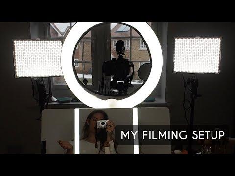 My Filming Room & Lighting Setup   Shonagh Scott   ShowMe MakeUp