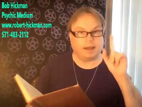 Psychic Bob's Spiritualist Class and Seance 06-02-2018
