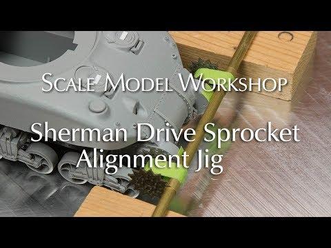 Sherman Drive Sprocket Alignment