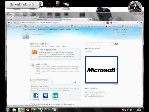 How to lock someone Hotmail account by