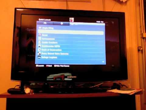 Xbox 360 dashboard speed test