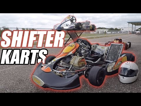EXTREME Go-Karting on 6-Speed Shifter Karts!