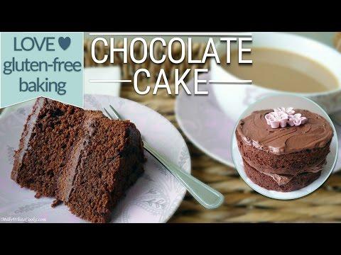 Gluten Free Chocolate Cake & Fudge Frosting Recipe | Moist Gluten Free Baking - Birthday Celebration