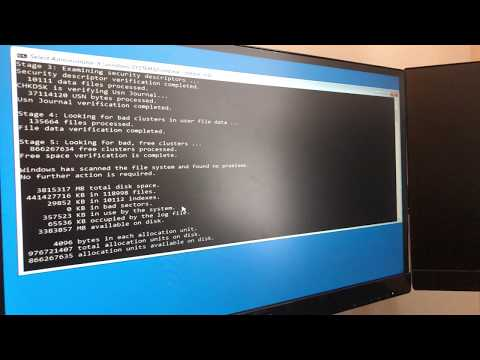 How To Recover A Crashed Hard Drive [Using chkdsk Command] [Tutorial]