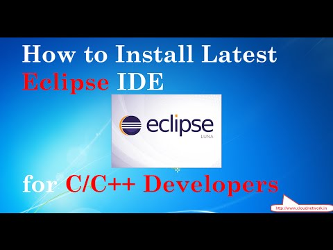 How to Install Latest Eclipse Luna (4.4.1) IDE for C/C++ Developers in Windows 7/8/10