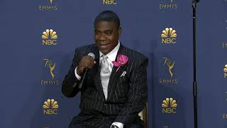 Tracy Morgan - Full Backstage Interview - Emmys 2018