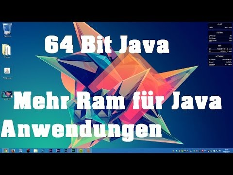 How To: Java 64 Bit installieren -Mehr Ram in Minecraft, etc. - German HD