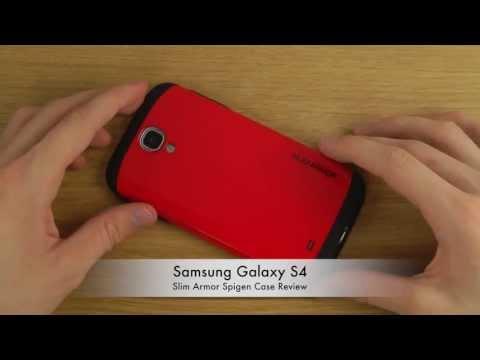 Samsung Galaxy S4 - Slim Armor Spigen Case Review