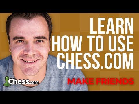 Using Chess.com: How To Make Friends