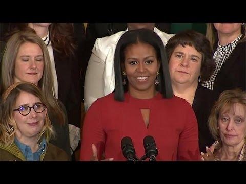 Xxx Mp4 آخرین سخنرانی میشل اوباما در کاخ سفید 3gp Sex