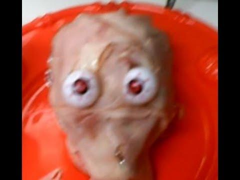 (Halloween Food) Head on a Platter