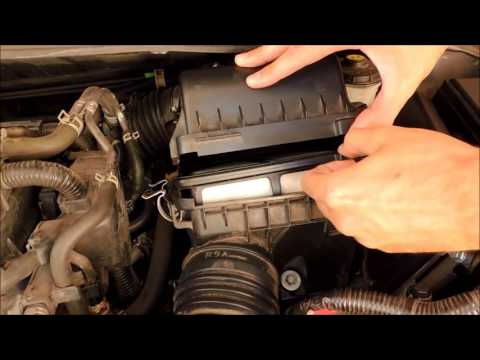 2013 Honda Civic Engine Airfilter Change