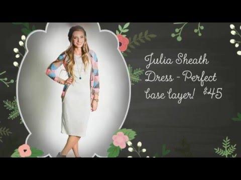 Learn the LuLaRoe Styles!