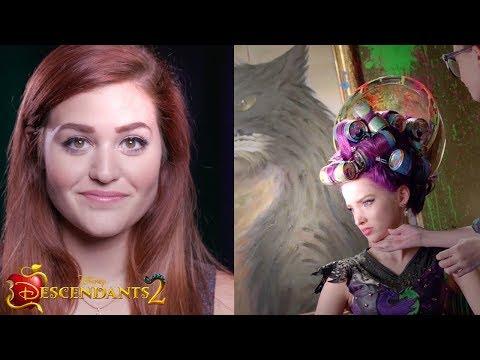 Mal Cotillion Makeup | DIY | Descendants 2