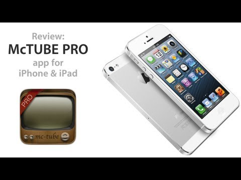 Review: McTube Pro YouTube Client for iPhone & iPad