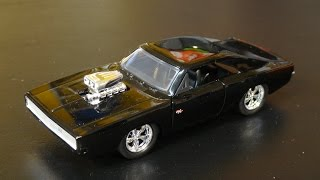 Fast and Furious 7 - Dom's '70 Dodge Charger R/T - Jada Toys Target Exclusive