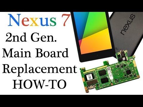 New Nexus 7 2nd 2013 motherboard replacement