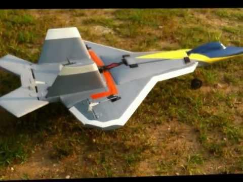 Home made RC Jet test flight