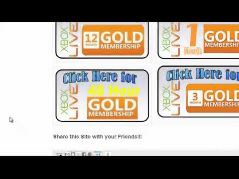 How to Get Xbox Live Gold for FREE! (voice instructions)
