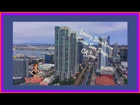 Moving to San Diego | DownTown Apartment Tour