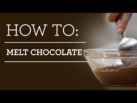 How to Melt Chocolate