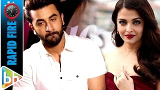 Ranbir Kapoor's MUSHKIL Rapid Fire On Aishwarya Rai | Anushka Sharma | Sultan