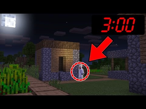 Can you find ENTITY 303 in Minecraft Pocket Edition at 3:00 AM???