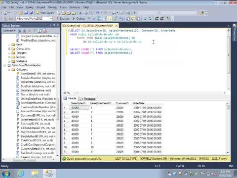 SQL Review Video 16: JOIN Part 1: INNER JOIN