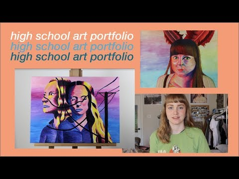 high school art portfolio