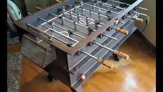 Custom Steel Foosball Table