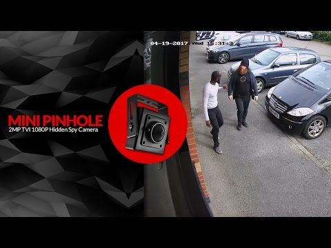 2.0MP HD 1080P Security Mini Pinhole Camera Hidden Covert 2MP CCTV Footage HDSECURE