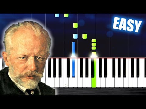 Tchaikovsky - March from the Nutcracker - EASY Piano Tutorial by PlutaX