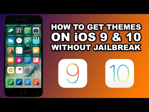 How To Install THEMES on iOS 9 & 10 WITHOUT JAILBREAK on Any iPhone, iPad, iPod Touch