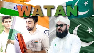 WATAN |DEDICATED TO INDIA& PAKISTAN| INDEPENDENCE DAY|Danish f dar |Dawar Farooq |Usman Ubaid Qadri|