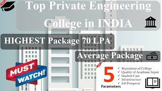 Top Private engineering colleges in india 2020   Private colleges in India   Top 10 private college