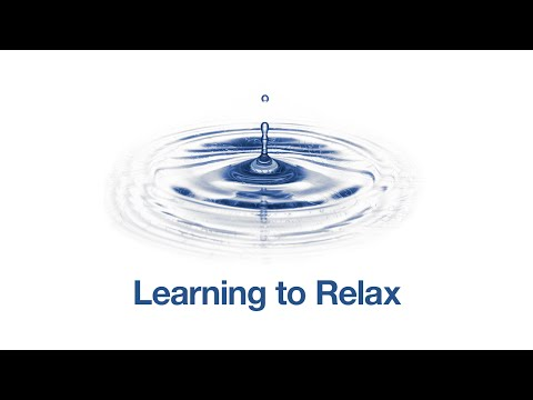 Self Hypnosis: Learning to Relax