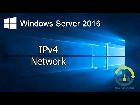 01. Implementing IPv4 network with Windows Server 2016 (Explained)