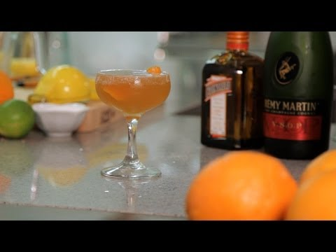 How to Make a Sidecar | Cocktail Recipes