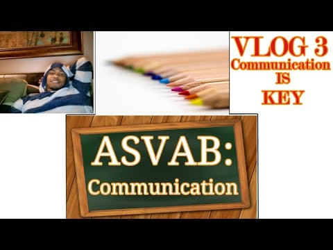 Communication is key with anything in life! ASVAB Rescheduled VLOG 3
