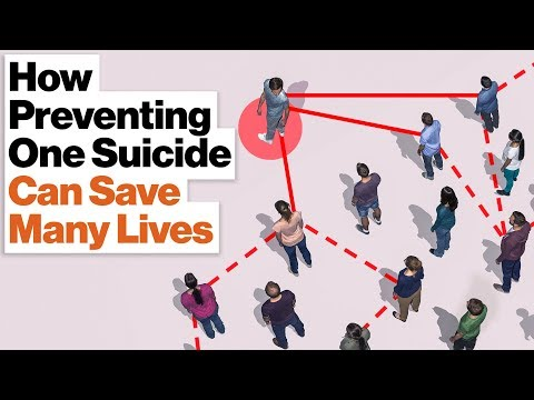 How Suicidal Tendencies Spread Through Families and Classrooms