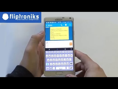 Samsung Galaxy Note 4: How to Insert Smiley Icons / Symbols into a Text Message - Fliptroniks.com