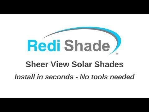 Sheer View Shades by Redi Shade