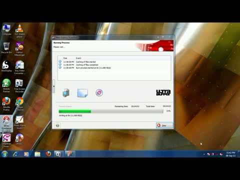 Cara Burning Nero 7 di Windows 7
