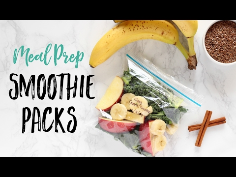 DIY Smoothie Packs | How to Meal Prep Your Smoothies