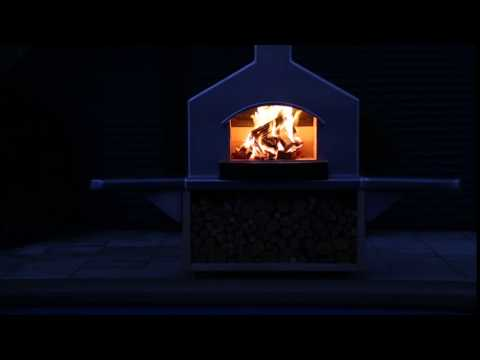 Bakewell Burners Outdoor Fireplace - closeup