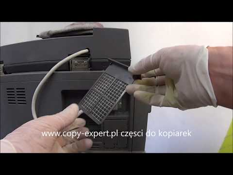 KONICA MINOLTA Bizhub c252 c250 wymiana filtrów