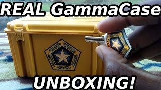 REAL CS:GO Gamma case! (Unboxing+Case Opening+Review)